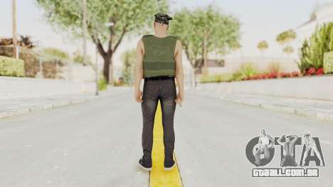 GTA 5 Online Skin Random para GTA San Andreas terceira tela