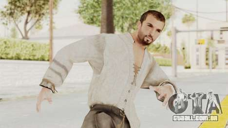 AC Brotherhood - Ezio Auditore Short Hair Civil para GTA San Andreas