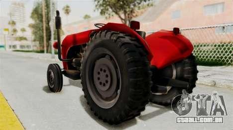IMT 533 para GTA San Andreas esquerda vista