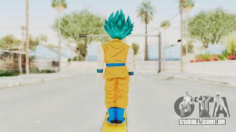 Dragon Ball Xenoverse Gohan Teen DBS SSGSS2 v2 para GTA San Andreas terceira tela