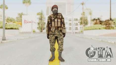 COD Black Ops Russian Spetznaz v4 para GTA San Andreas segunda tela