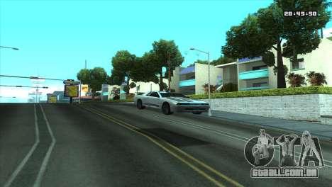 ENB Double FPS & for LowPC para GTA San Andreas por diante tela