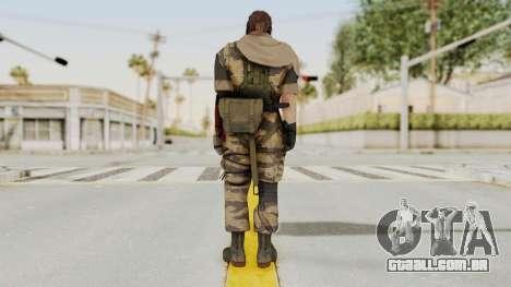 MGSV The Phantom Pain Venom Snake Sc No Patch v2 para GTA San Andreas terceira tela