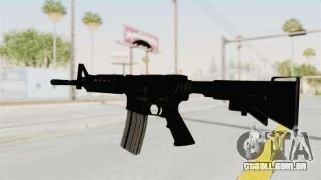 M4A1 para GTA San Andreas segunda tela