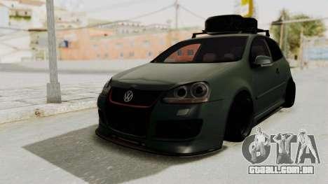 Volkswagen Golf MK5 JDM para GTA San Andreas