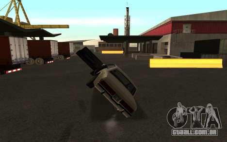 Flip máquina para GTA San Andreas segunda tela