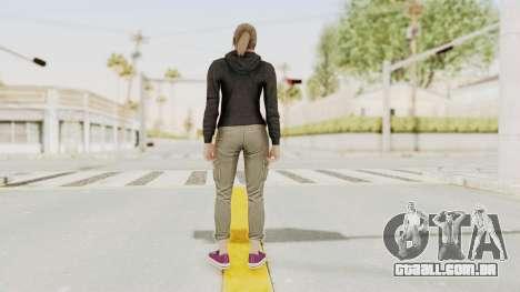 GTA 5 Online Female Skin 2 para GTA San Andreas terceira tela
