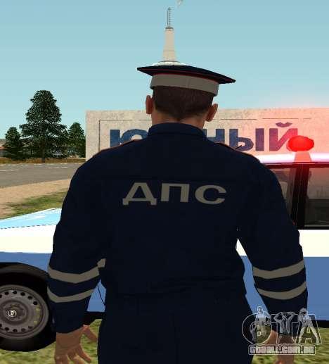 O sargento DPS para GTA San Andreas segunda tela
