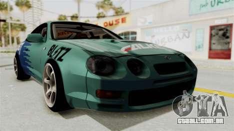 Toyota Celica GT Drift Falken para GTA San Andreas vista direita