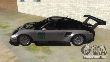 2016 Porsche 911 RSR para GTA San Andreas esquerda vista