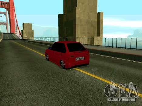 VAZ 2114 KBR para GTA San Andreas esquerda vista