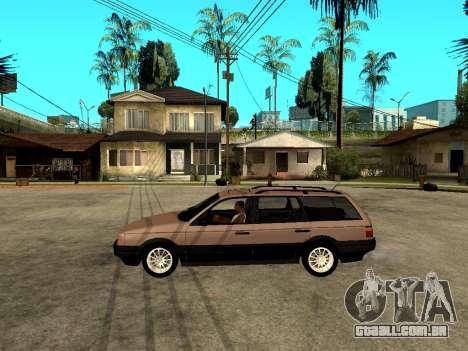 Volkswagen Passat B3 Variant para GTA San Andreas esquerda vista