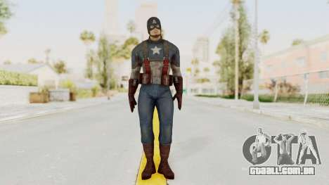 Captain America Civil War - Captain America para GTA San Andreas segunda tela