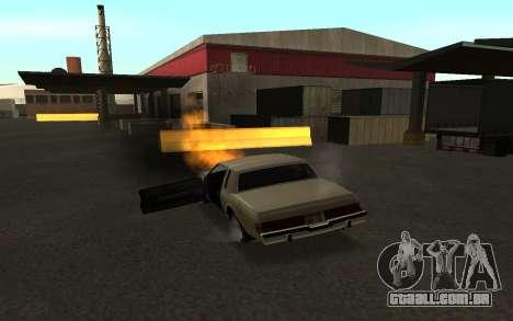 Flip máquina para GTA San Andreas por diante tela