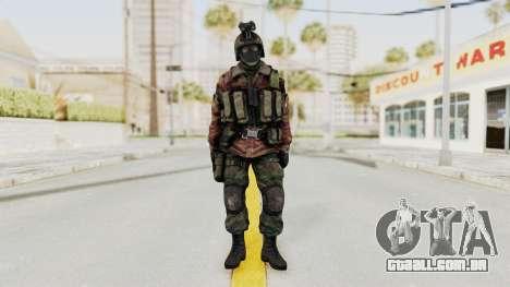 Battery Online Russian Soldier 8 v1 para GTA San Andreas segunda tela