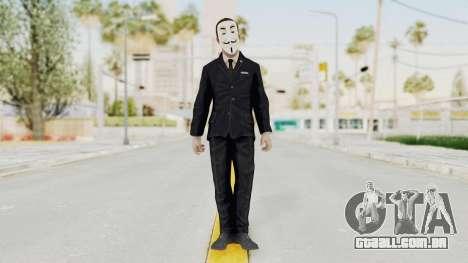 COD BO Nixon Anonymous para GTA San Andreas segunda tela