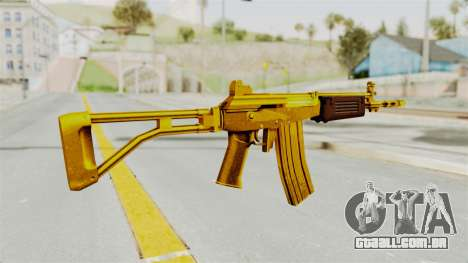 Galil Gold para GTA San Andreas segunda tela