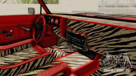 GTA 5 Dundreary Virgo Classic Custom v2 para GTA San Andreas vista interior