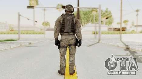 COD MW3 Delta Sandman Custom para GTA San Andreas terceira tela