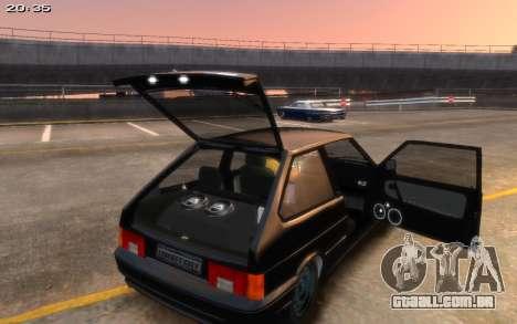 VAZ 2113 Final para GTA 4 traseira esquerda vista