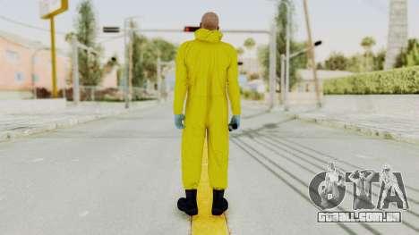 Walter White Heisenberg GTA 5 Style para GTA San Andreas terceira tela