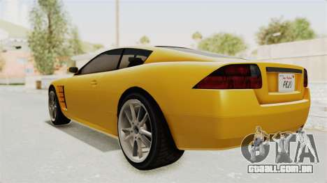 GTA 5 Ocelot F620 SA Lights para GTA San Andreas vista direita