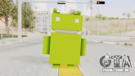 Crossy Road - Android Robot para GTA San Andreas segunda tela