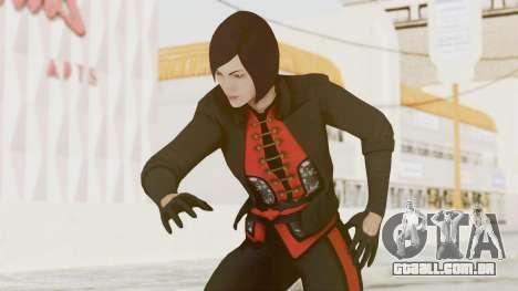 Batman Arkham Origins - Lady Shiva para GTA San Andreas