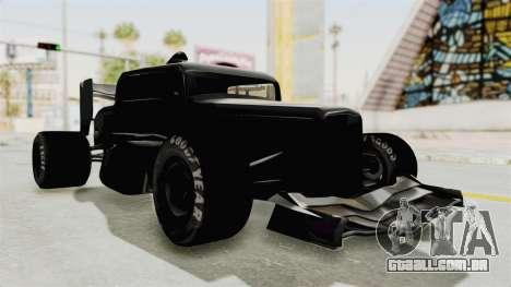 Ford 32 F1 para GTA San Andreas vista direita