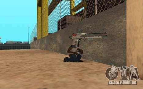 Desert Eagle Cyrex para GTA San Andreas por diante tela