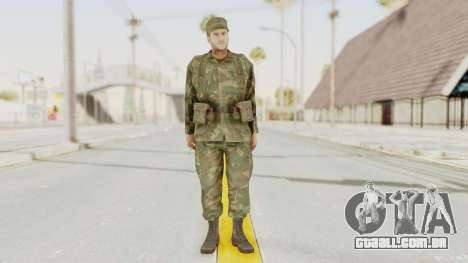 MGSV Ground Zeroes US Soldier Armed v2 para GTA San Andreas segunda tela