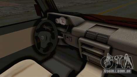 Toyota Kijang Prinz Eugen Itasha para GTA San Andreas vista interior