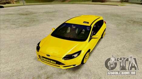 Ford Focus Taxi para GTA San Andreas