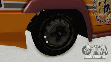 Toyota Kijang Prinz Eugen Itasha para GTA San Andreas vista traseira