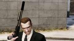 O silenciador de arma