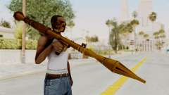 Rocket Launcher Gold para GTA San Andreas