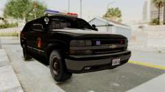 Chevrolet Suburban Indonesian Police RESMOB Unit