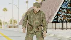 MGSV Ground Zeroes US Soldier Armed v2 para GTA San Andreas