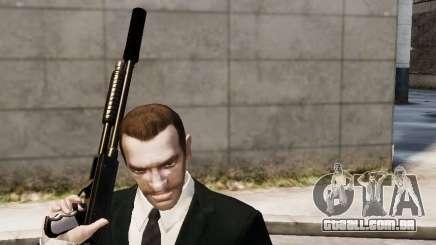 O silenciador de arma para GTA 4