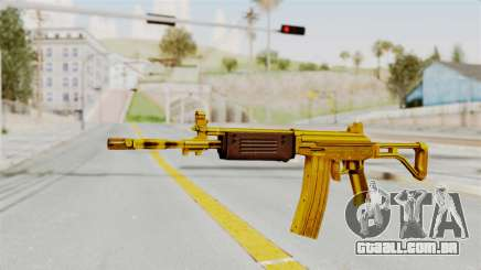 Galil Gold para GTA San Andreas