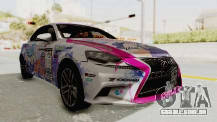 Lexus IS350 FSport Megami no Aqua para GTA San Andreas