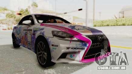 Lexus IS350 FSport Megami no Aqua para GTA San Andreas