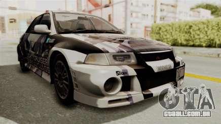 Mitsubishi Lancer Evolution VI Tenryuu Itasha para GTA San Andreas