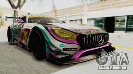 Mercedes-Benz SLS AMG GT3 2016 Goodsmile Racing para GTA San Andreas