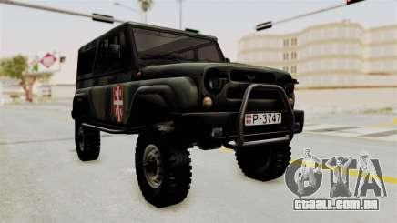 UAZ-3153 Caçador de forças Sérvias para GTA San Andreas