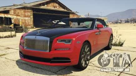 2017 Rolls-Royce Dawn para GTA 5