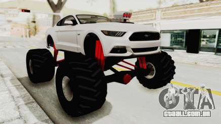 Ford Mustang GT 2015 Monster Truck para GTA San Andreas