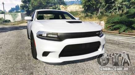 Dodge Charger SRT Hellcat 2015 v1.3 para GTA 5