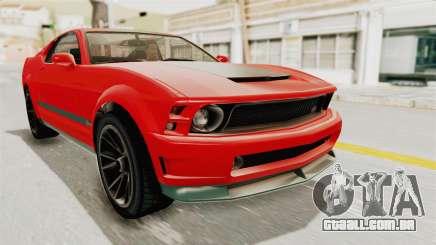 GTA 5 Vapid Dominator v2 SA Lights para GTA San Andreas