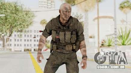 COD Black Ops 2 Hudson Commando para GTA San Andreas